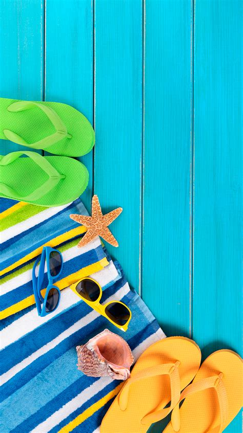 Beach Stuff HD Wallpaper For Your Mobile Phone