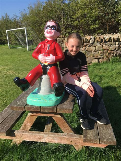 Crivvens, it's Oor Wullie in Brora and Helmsdale