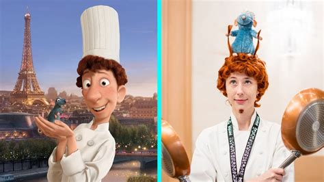 Ratatouille Characters In Real Life | All Characters 2017