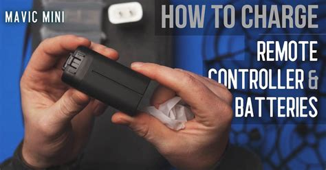 How to Charge Mavic Mini Remote Controller and… | Aerial Guide
