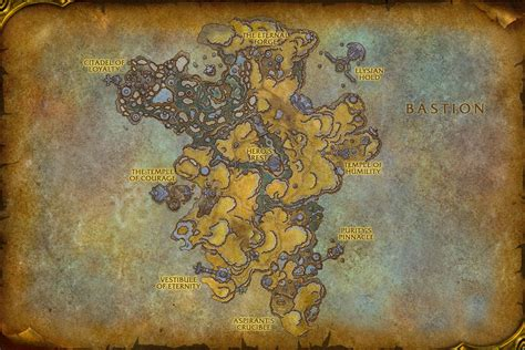 Shadowlands World & Zone Maps - News - Icy Veins