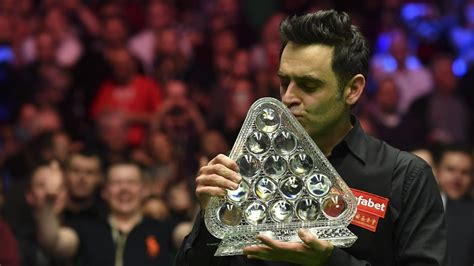 Ronnie O'Sullivan becomes snooker's greatest Master of all