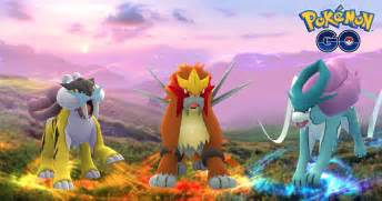 Pokemon Go adds legendary dogs Entei, Suicune and Raikou
