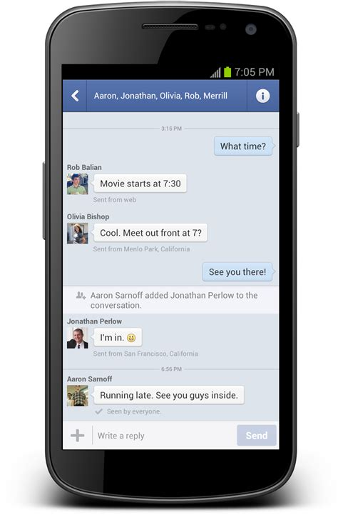 Facebook Messenger Continues War on SMS With Android