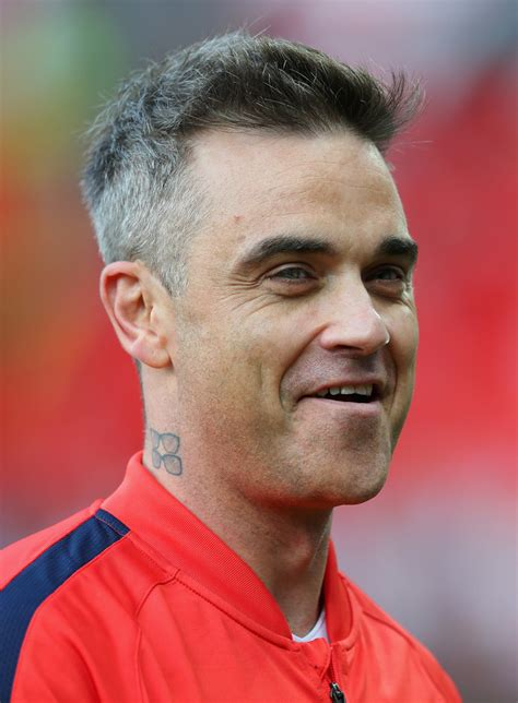 Robbie Williams - Robbie Williams Photos - Soccer Aid 2016