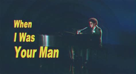 Bruno Mars - 'When I Was Your Man' - Directlyrics