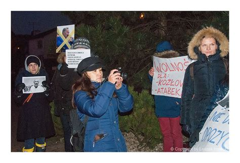Protest in front of Kazakhstan's Embassy in Warsaw – The