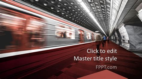 Free Subway PowerPoint Template - Free PowerPoint Templates
