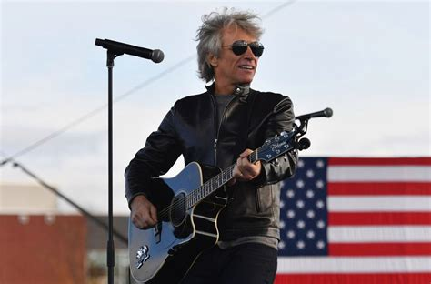 Bon Jovi Plays at Biden Event After Candidate Visits Bucks