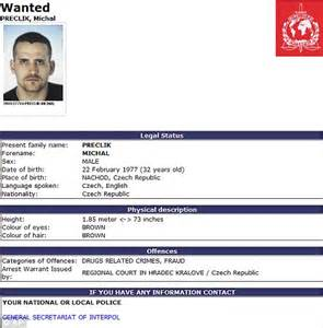 Wanted man gets a job in U