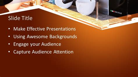 Free Coffee Shop PowerPoint Template - Free PowerPoint