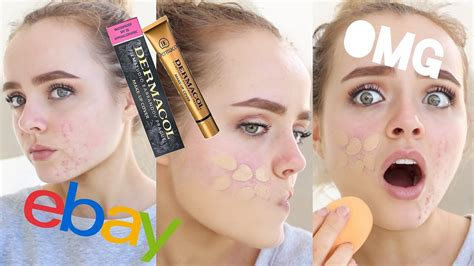 EXTREME COVERAGE EBAY FOUNDATION?? | DERMACOL MAKEUP COVER