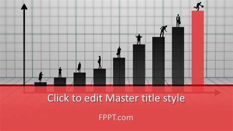 Free Business Growth PowerPoint Template - Free PowerPoint