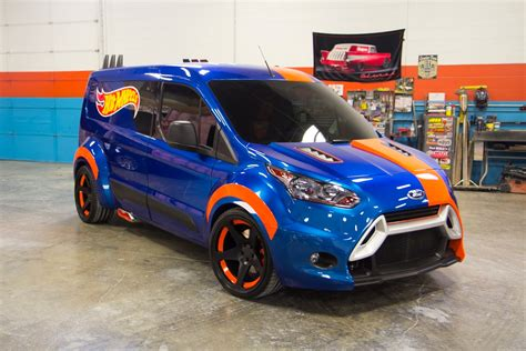 Ford Transit Connect Hot Wheels Concept Is a Race-Ready