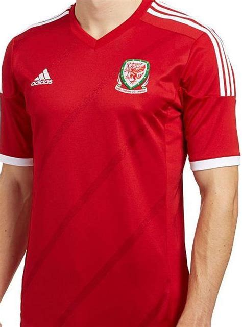 New Wales Football Shirt 2014- Adidas Wales Home Kit 14/15
