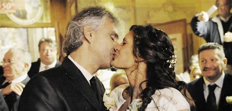 Andrea Bocelli got married to his manager and it was just