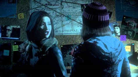 Until Dawn™ Emily b!tch slaps Ashley - YouTube