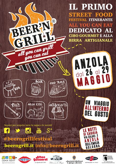 Beer'n'Grill il primo Street Food Festival itinerante ad
