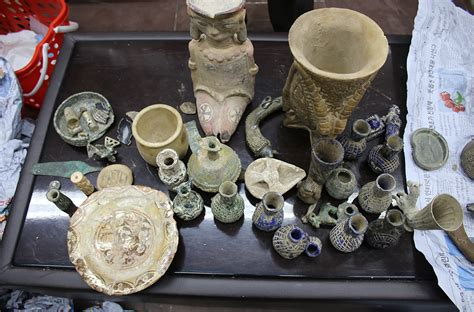 101 arrested and 19,000 stolen artefacts recovered in