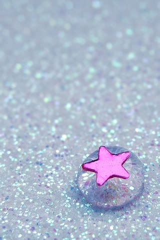 Cute Five-pointed Star Iphone Wallpapers 320x480 Mobile