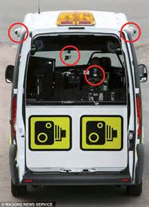 The police van that traps motorists with speed cameras on