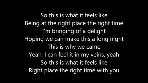 Olly Murs - Right Place Right Time (Lyrics) - YouTube