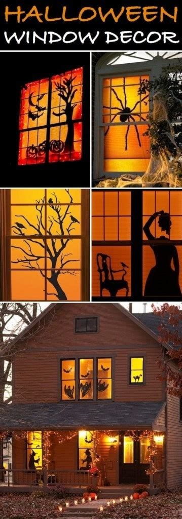 35 Cool Halloween Ideas For Decorating Windows With