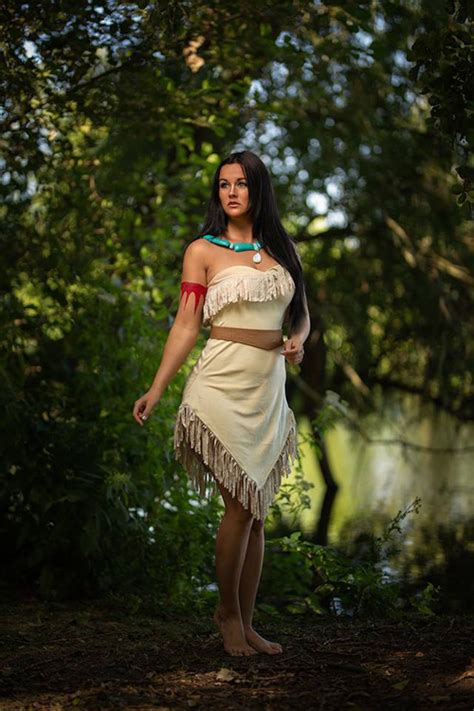 Cosplay de Pocahontas - Mundo Cosplayer