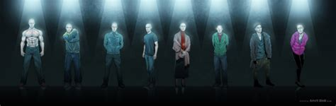 Split gets some awesome character illustrations to