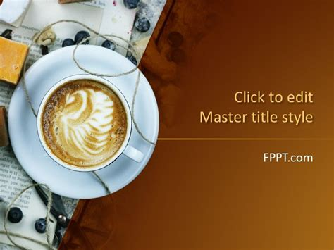 Free Coffee PowerPoint Templates