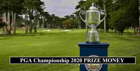 PGA Championship 2020 Prize Money (Each Golfers Payouts