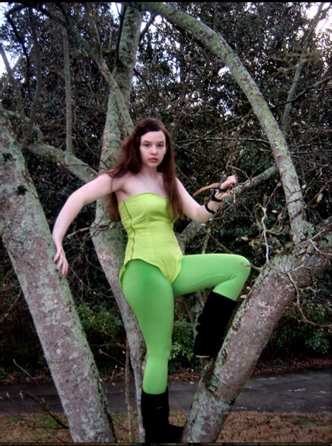 Poison Ivy from Batman Costume – Sewing Projects