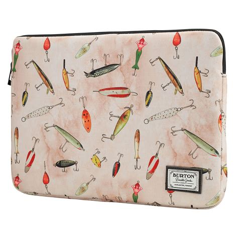 Obal Burton 15 Laptop Sleeve fishing lures print