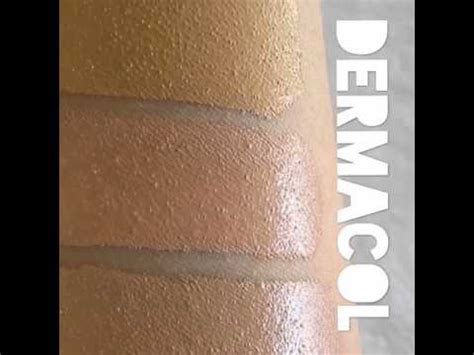 Dermacol Make-up Cover - Shades - YouTube