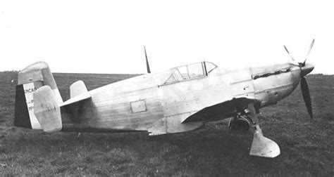 French SNCAO 200 prototype fighter (introduction - 1939