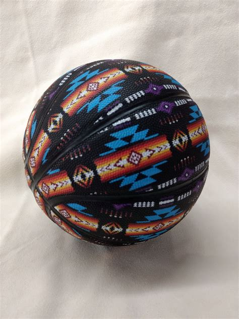 Basketballs and Other Sports Balls - Native American Design