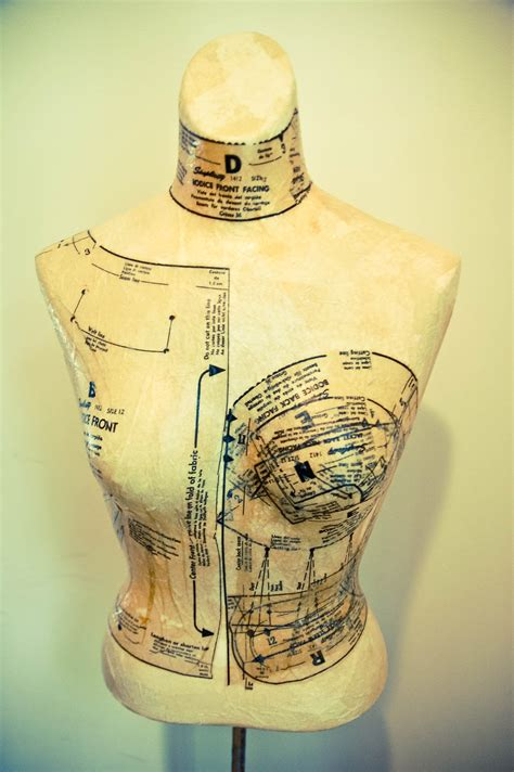 DIY Dress Form from Mannequin – Sewing Projects
