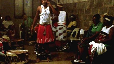 """Amakhosi """"Young Diviners"""" Traditional healers dance"""