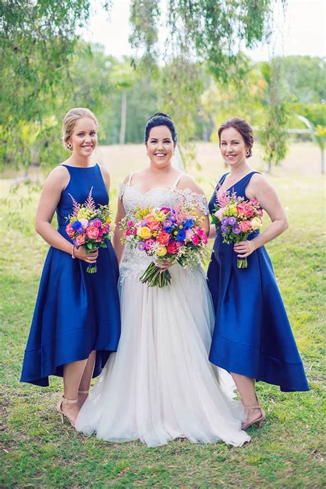 Cherie & Ben's Royal Blue Country Wedding