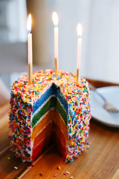 Easy Rainbow Cake – The Comfort of Cooking