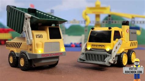 Welcome to The World of Rokenbok Construction Toys - YouTube