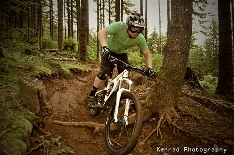 Tearing Up Mountain Bike Trails In The Capitol State