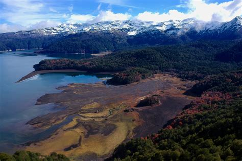 Pictures of Conguillío National Park (Chile) from the air