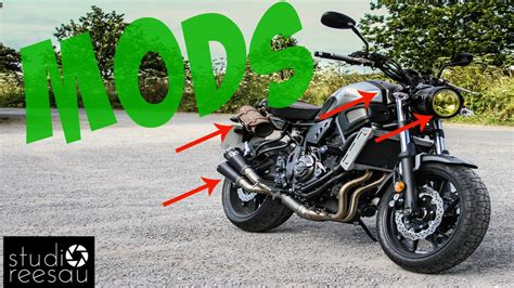 Yamaha XSR700 | Ride with Me | Vol 9 | MODS | Stripes