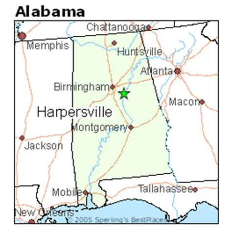 Best Places to Live in Harpersville, Alabama