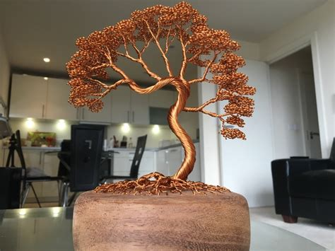 Wire Tree Sculptures By Andy Elliott by Andy Elliott