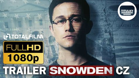 Snowden (2016) CZ HD trailer - YouTube