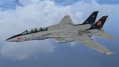 US Navy Grumman F-14 Tomcat 163227/VF-11 for FSX