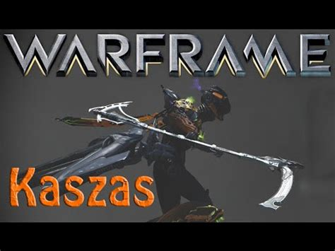 Warframe - Kaszas (Archwing scythe) - YouTube