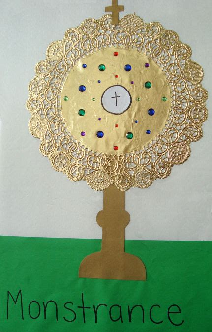 Catholic Icing: Craft a Monstrance with a Gold Doily